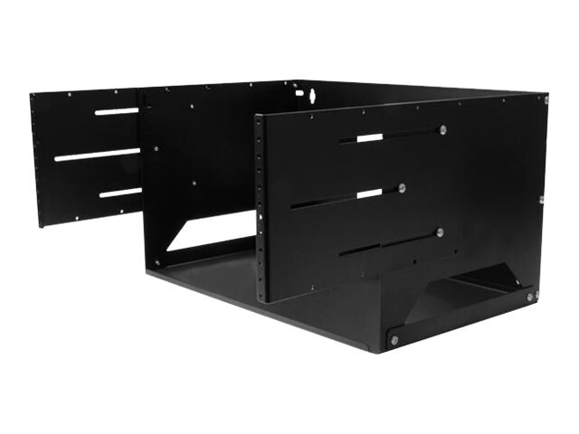 StarTech.com 4U Wall-Mount Solid Steel Server Rack w Built-in Shelf, WALLSHELF4U