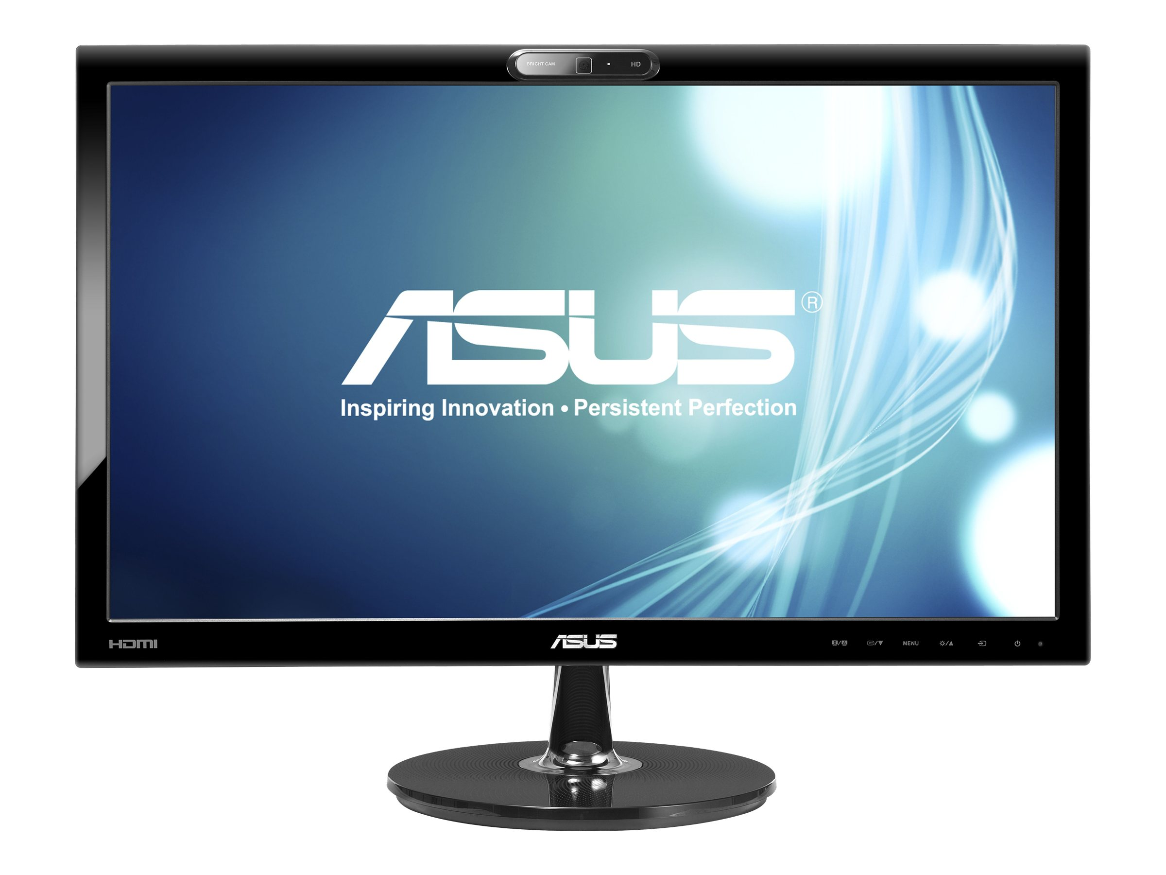 Asus 22 VK228H-CSM LED-LCD Full HD Monitor with Webcam, Black, VK228H-CSM, 14450598, Monitors - LED-LCD