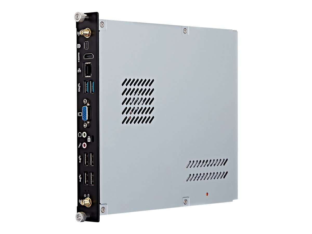 ViewSonic Slot-In PC Network Media Player Core i5 4GB 500GB GbE W10P64, NMP711-P10, 32116649, Digital Signage Systems & Modules