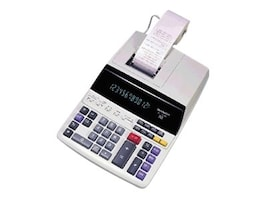 Sharp 12 Digit 2 Color Printing Calculator, EL-1197PIII, 8212711, Calculators