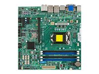 Supermicro Motherboard, Haswell UP X10SLQ-O, MBD-X10SLQ-O, 15792258, Motherboards