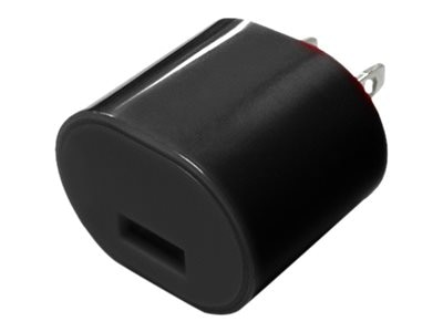 Mizco 1A USB Wall Charger, Black