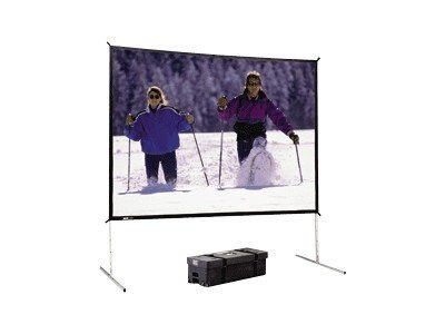 Da-Lite Da-Tex Rear Projection Deluxe Complete Screen, 16:9, 56x96, 88624, 17826538, Projector Screen Accessories