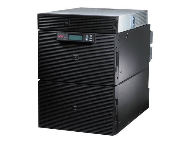 APC Smart-UPS RT 20kVA 16kW 14U RM, 5kVA Step-down Transformer, 208V Input 120-208V Output (18) Outlets, SURT20KRMXLT-TF5, 10039654, Battery Backup/UPS