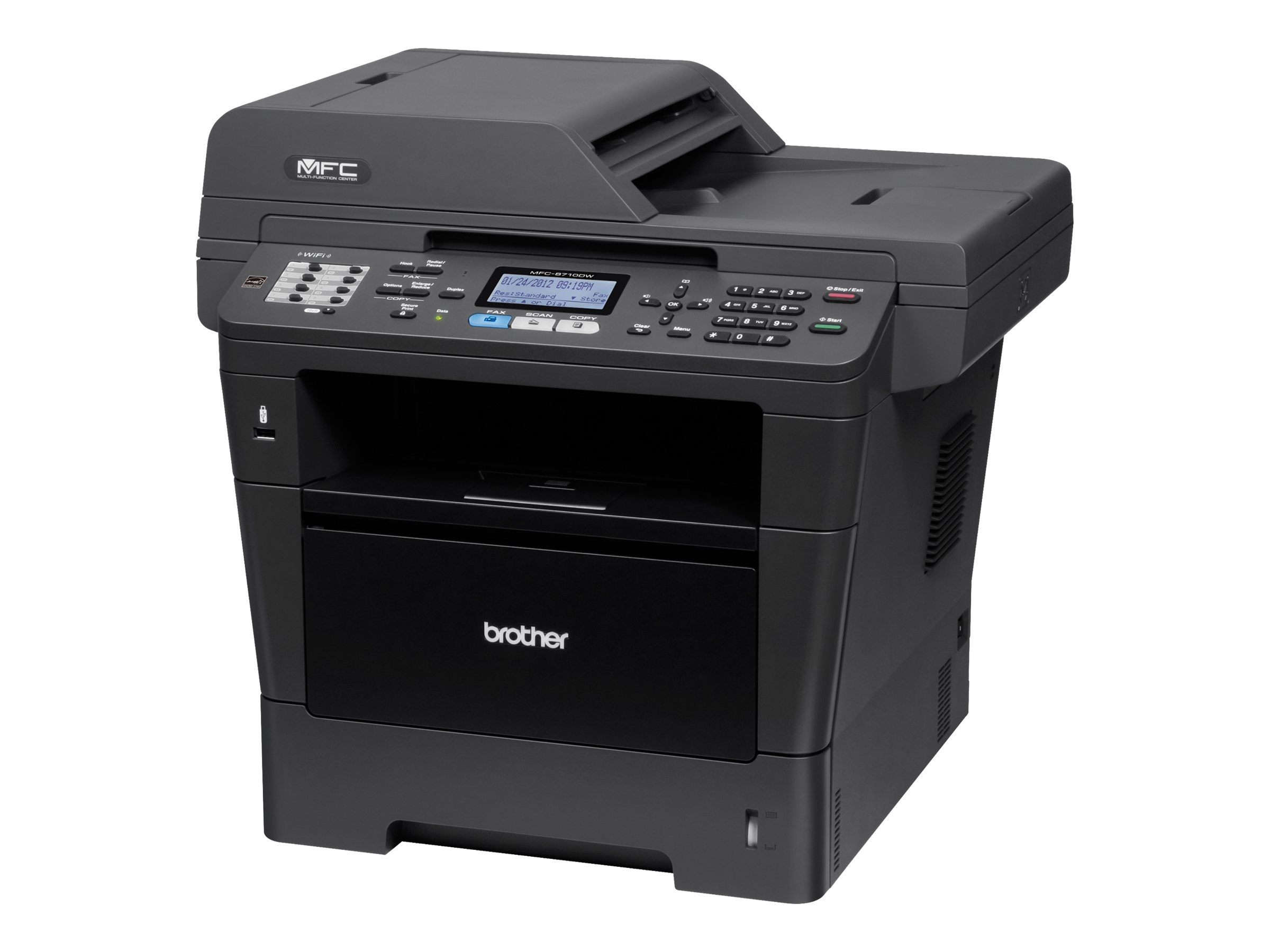 Brother MFC-8710DW Laser All-In-One, MFC-8710DW, 14482611, MultiFunction - Laser (monochrome)