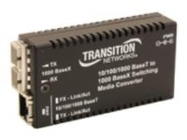 Transition M 10 100 1000BT -1000BX SC MM Switch, M/GE-PSW-SX-01-UK, 31627412, Network Switches