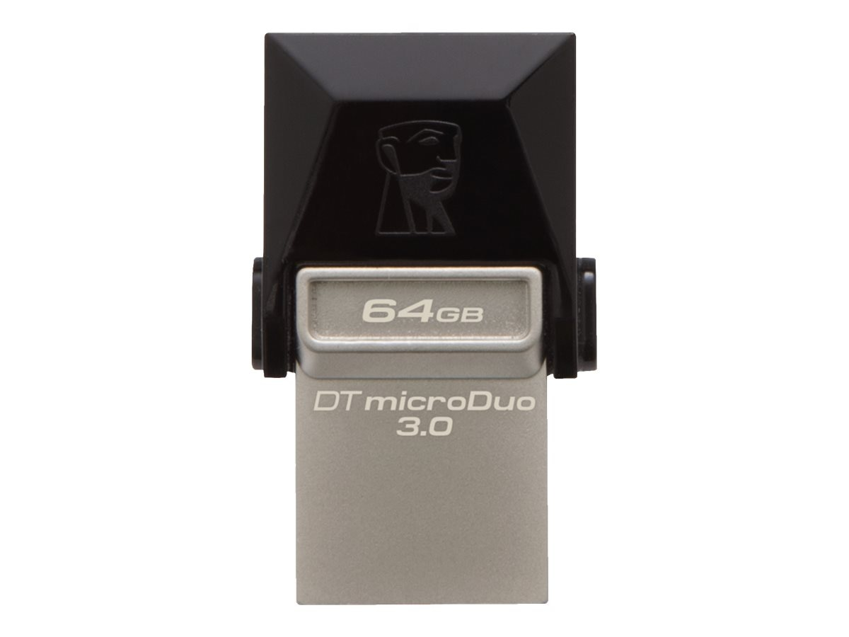 Kingston 64GB DataTraveler MicroDuo USB 3.0 Flash Drive