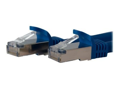 StarTech.com Cat6a Patch Cable, STP, Molded, Blue, 3ft, C6ASPAT3BL, 10147137, Cables