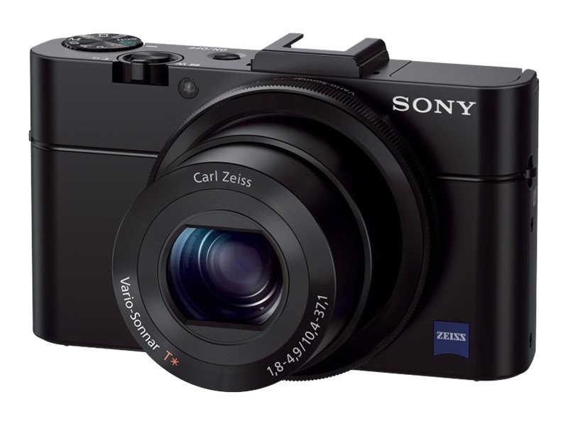 Sony Cyber-shot Digital Camera RX100 II, 20.2MP, Black, DSCRX100M2/B, 16037879, Cameras - Digital - Point & Shoot