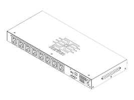 Raritan PDU 3.3kVA 208V 20A 1-ph 1U IEC60320 Input (8) C13 Outlets, PX2-2180CR-K2, 31159196, Battery Backup/UPS