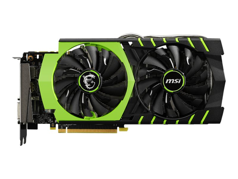 Microstar nVidia GeForce GTX 970 PCIe 3.0 x16 Graphics Card, 4GB GDDR5, GTX 970 GAMING 100ME, 18587461, Graphics/Video Accelerators