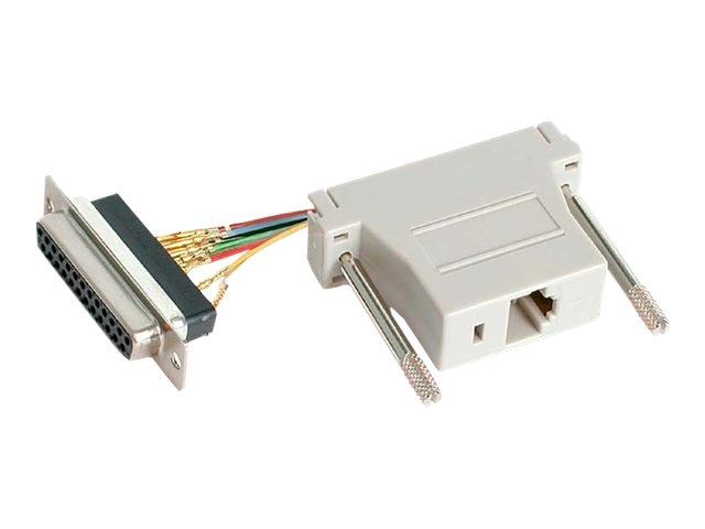 StarTech.com DB25F to RJ45F Adapter, GC258FF, 5524840, Adapters & Port Converters