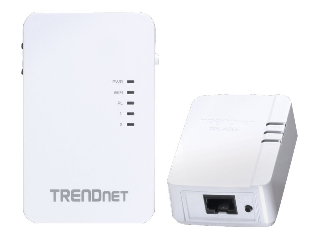 TRENDnet PowerLine 500 Wireless Kit, TPL-410APK