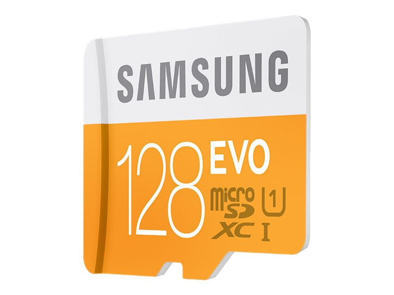 Samsung 128GB MicroSDXC EVO Memory Card with Adapter