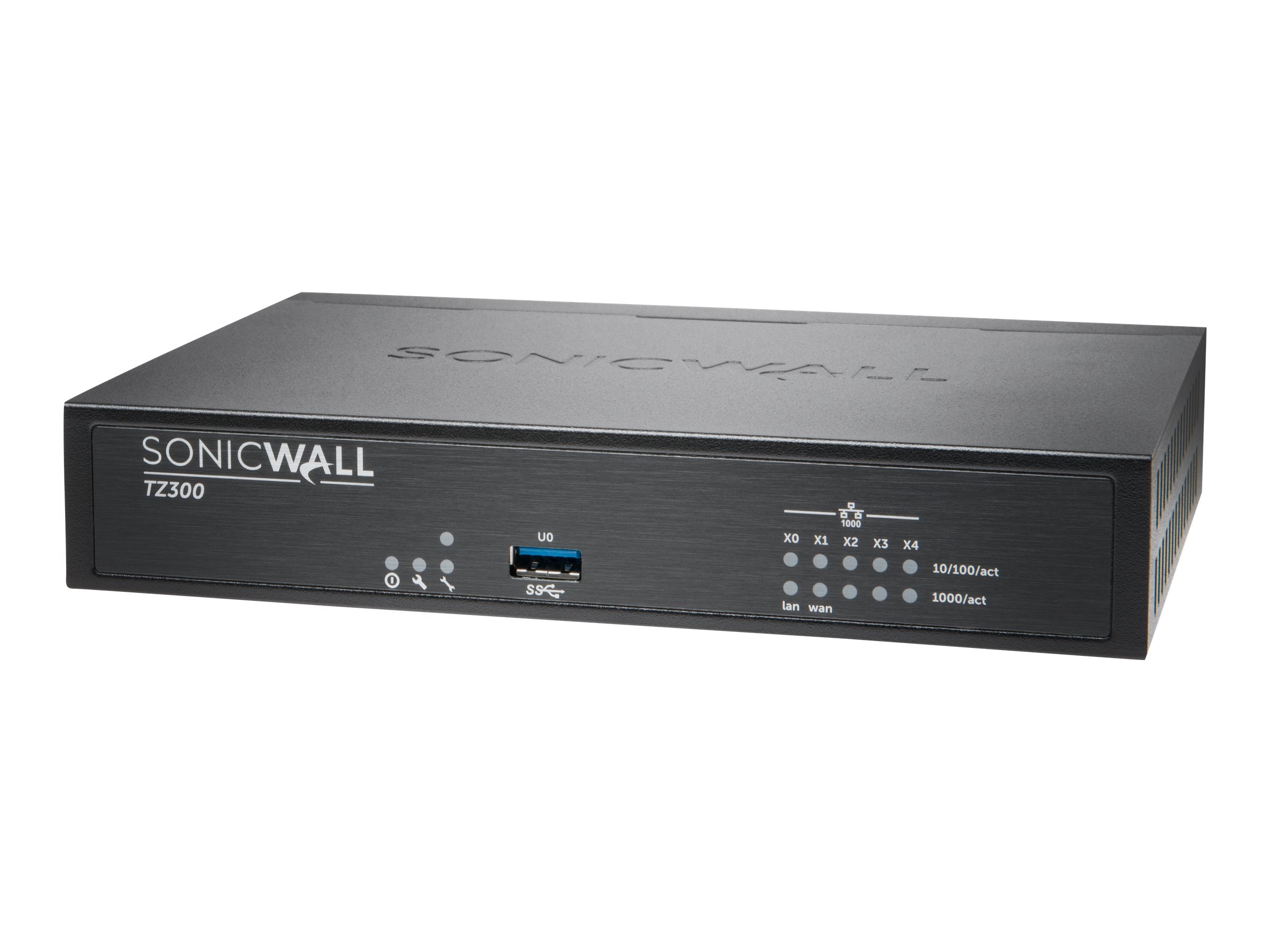 SonicWALL SonicWALL TZ300 Firewall with TotalSecure (1 Year)