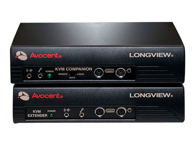 Avocent Longview Transmitter Receiver Pair, (2) Power Supplies