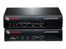Avocent Longview Transmitter Receiver Pair, (2) Power Supplies, LV430-AM, 6909590, KVM Displays & Accessories