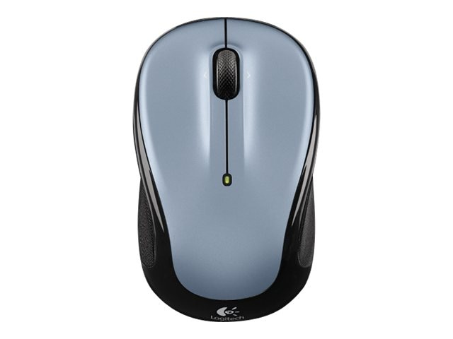 Logitech M325 Wireless Mouse, Silver, 910-002332