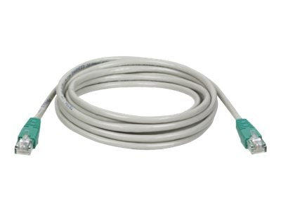 Tripp Lite Cat5e RJ-45 M M Molded Cross-over Patch Cable, Gray, 7ft, N010-007-GY, 196854, Cables
