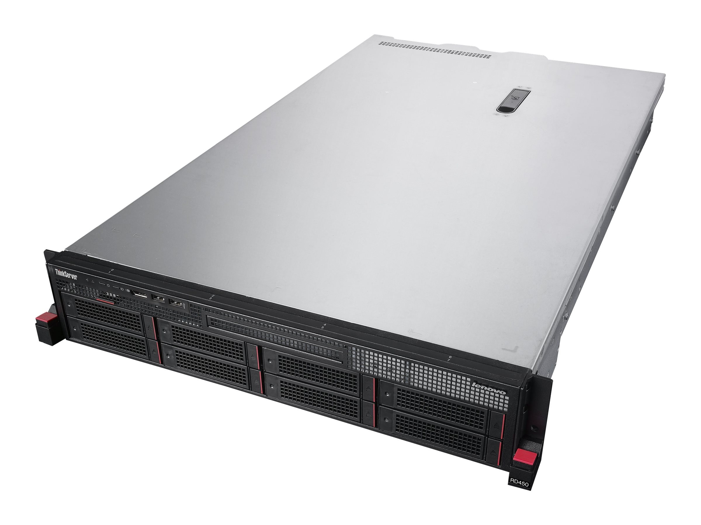 Lenovo TopSeller ThinkServer RD450 Intel 1.6GHz Xeon, 70DC001KUX, 18339205, Servers