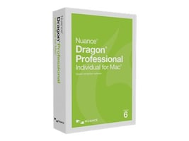 Nuance Dragon Pro Individual for Mac 6.0, S601A-G00-6.0, 32706024, Software - Voice Recognition