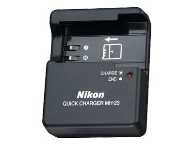 Nikon MH-23 Battery Quick Charger, 25349, 7293897, Camera & Camcorder Accessories