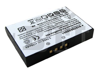 BTI Battery, Lithium-Ion, 3.7 Volts, 1150mAh, for Magellan, GPS-MAG800, 8443113, Batteries - Other