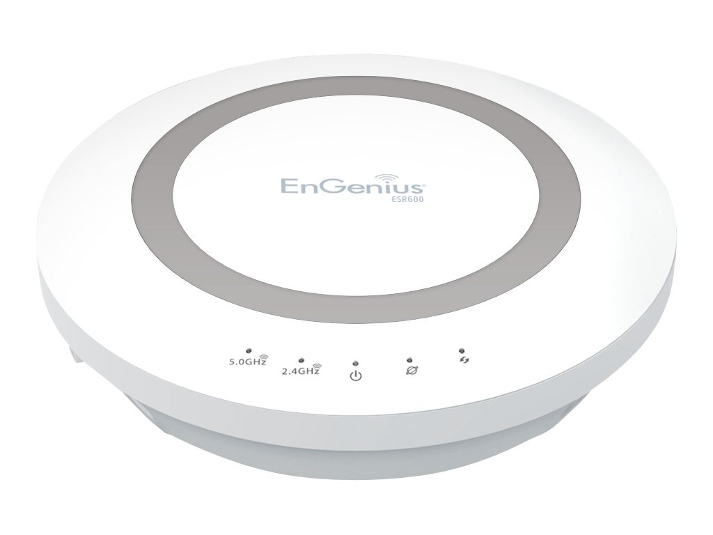Engenius Technologies Xtra Ranger Dual Band N600 Gigabit Router, ESR600, 15648491, Network Routers