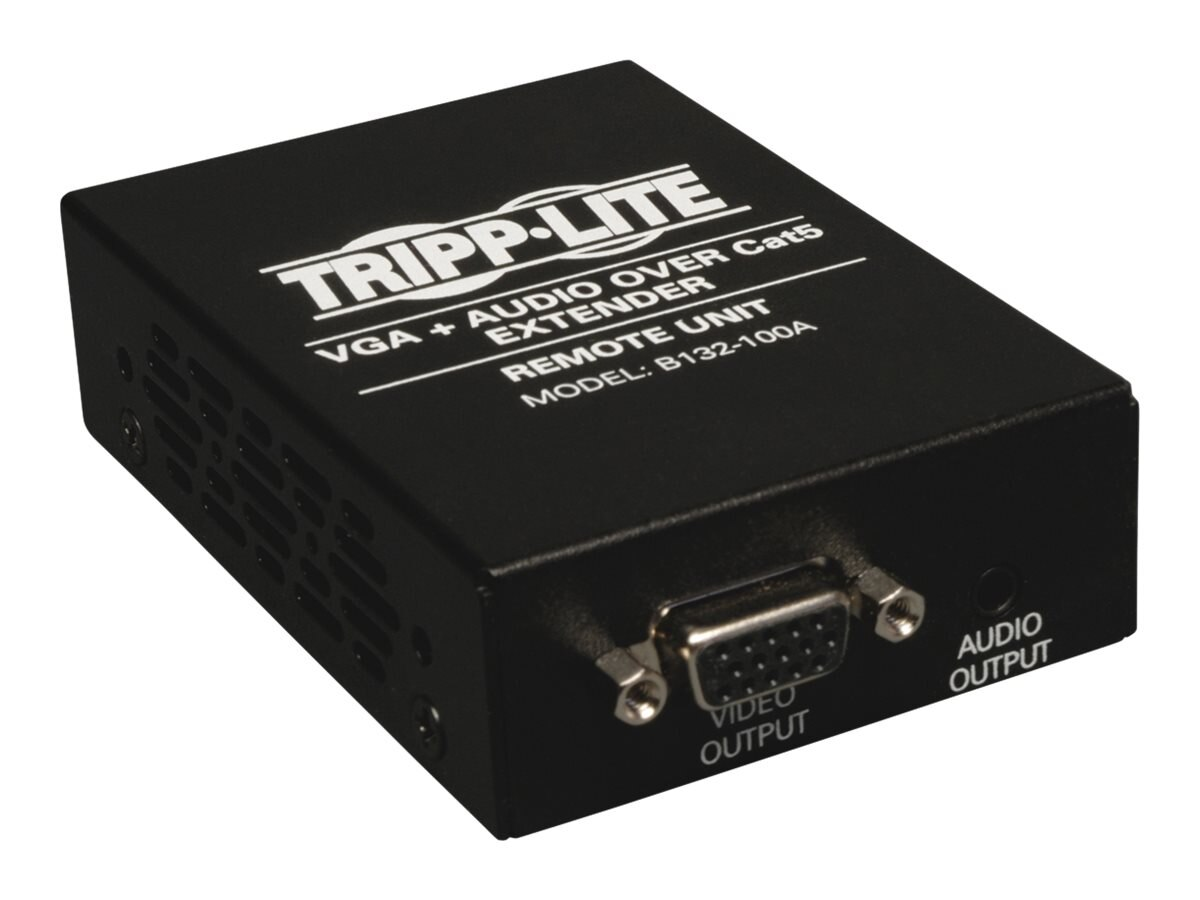 Tripp Lite VGA with Audio over Cat5 Cat6 Extender, Receiver, 1920x1440 at 60Hz, Instant Rebate - Save $6