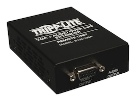 Tripp Lite VGA with Audio over Cat5 Cat6 Extender, Receiver, 1920x1440 at 60Hz, Instant Rebate - Save $6, B132-100A, 9812072, Video Extenders & Splitters