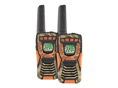 Cobra Electronics 37 Mile Floating Radio w  NOAA, CXT 1035 FLT CAMO, 20661295, Two-Way Radios
