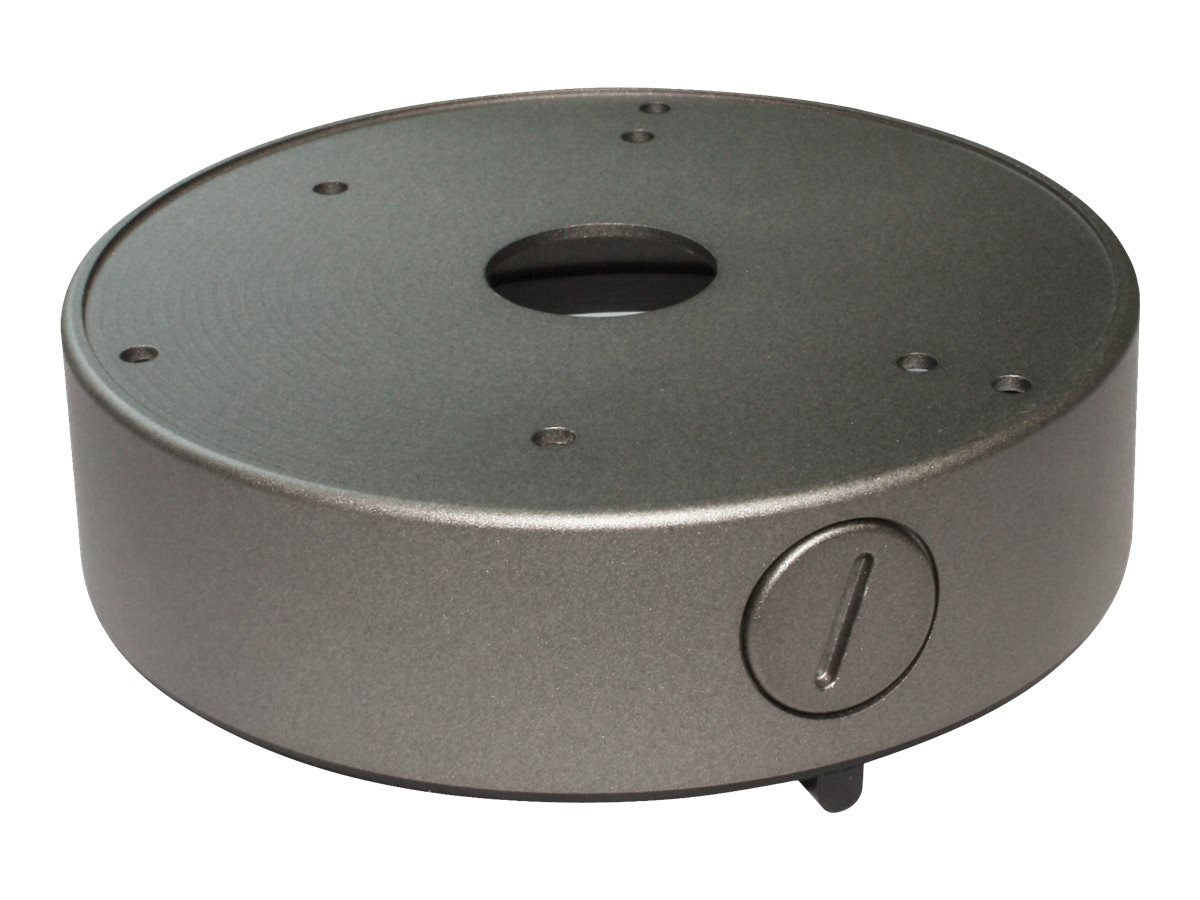 Speco Large Round Junction Box, Silver, JB03TG