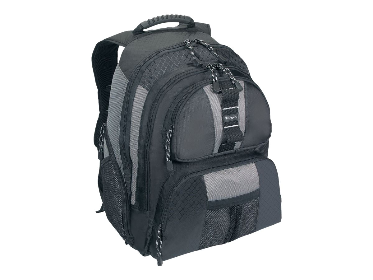 Targus 15.4 Sport Standard Backpack, Platinum Black, TSB212