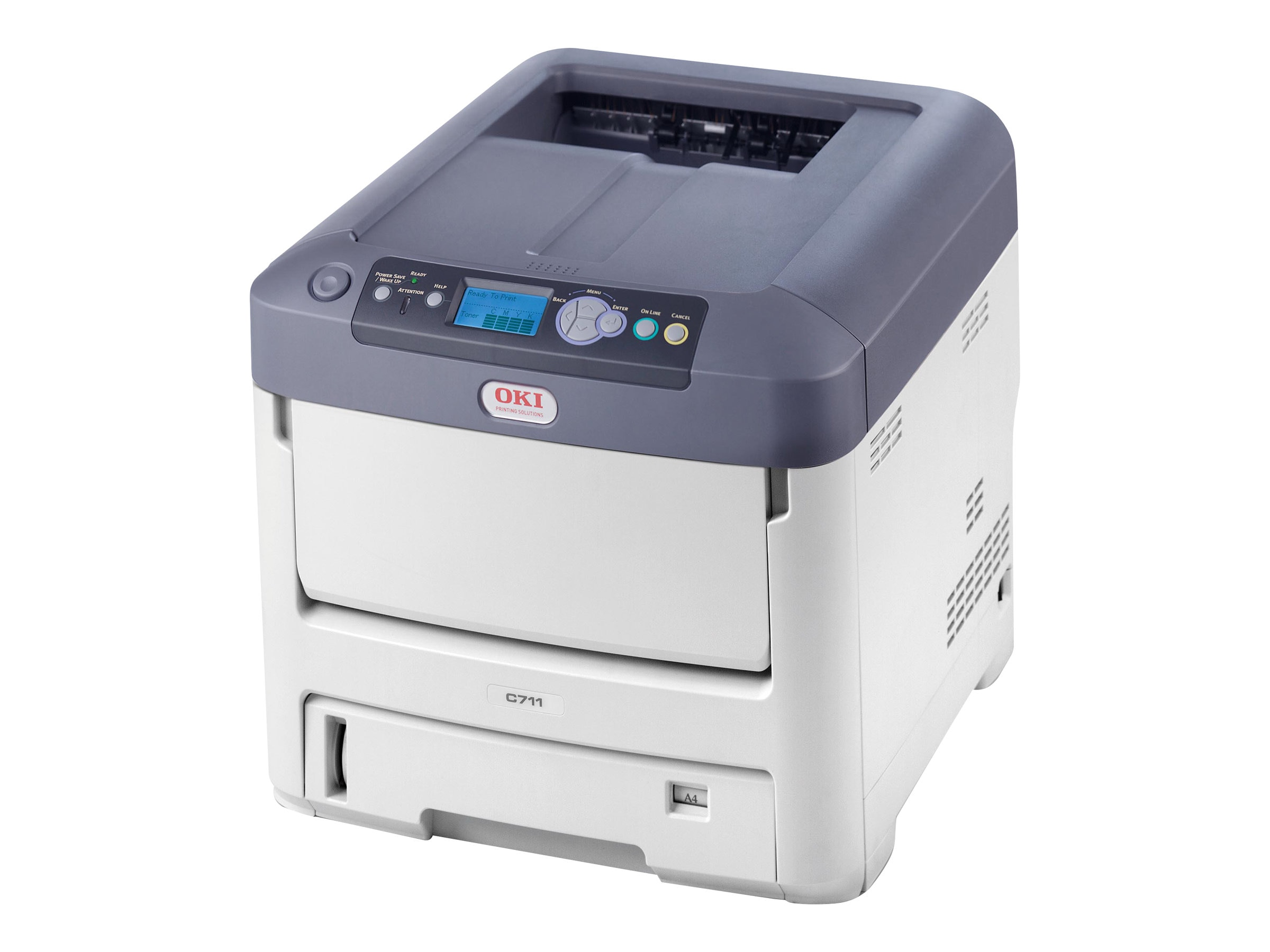 Oki C711n Digital Color Printer - 220V (Mulitilingual)