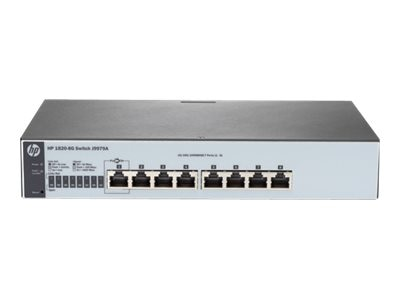HPE 1820-8G Switch, J9979A#ABA, 18984589, Network Switches