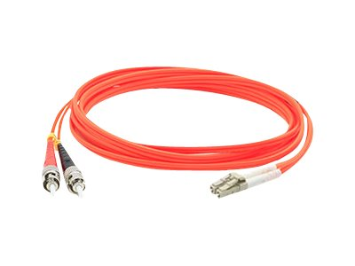 ACP-EP ST-SC OM1 Multimode Fiber Patch Cable, Orange, 15m, ADD-ST-SC-15M6MMF