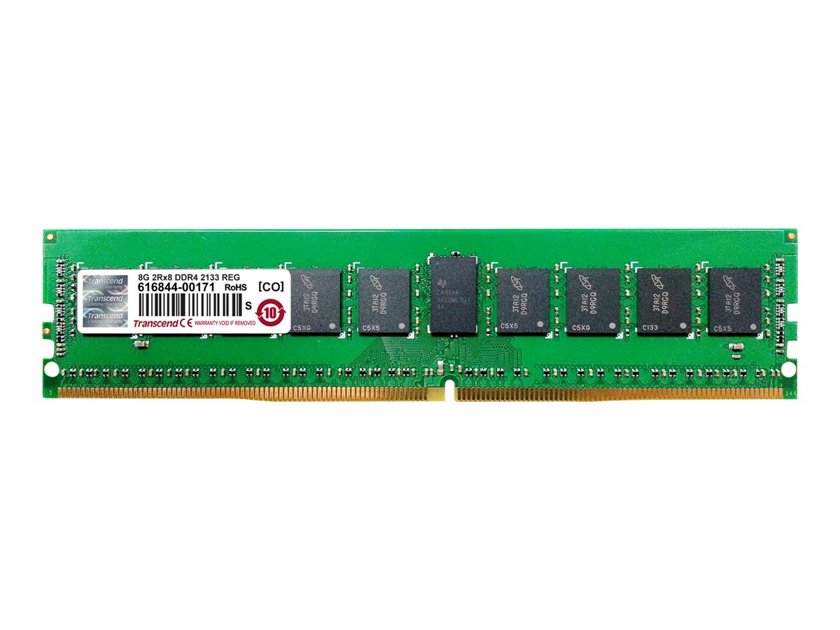 Transcend 8GB PC4-17000 288-pin DDR4 SDRAM RDIMM, TS1GHR72V1H