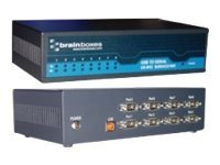 Brainboxes 8-Port RS422 485 USB to Serial Adapter