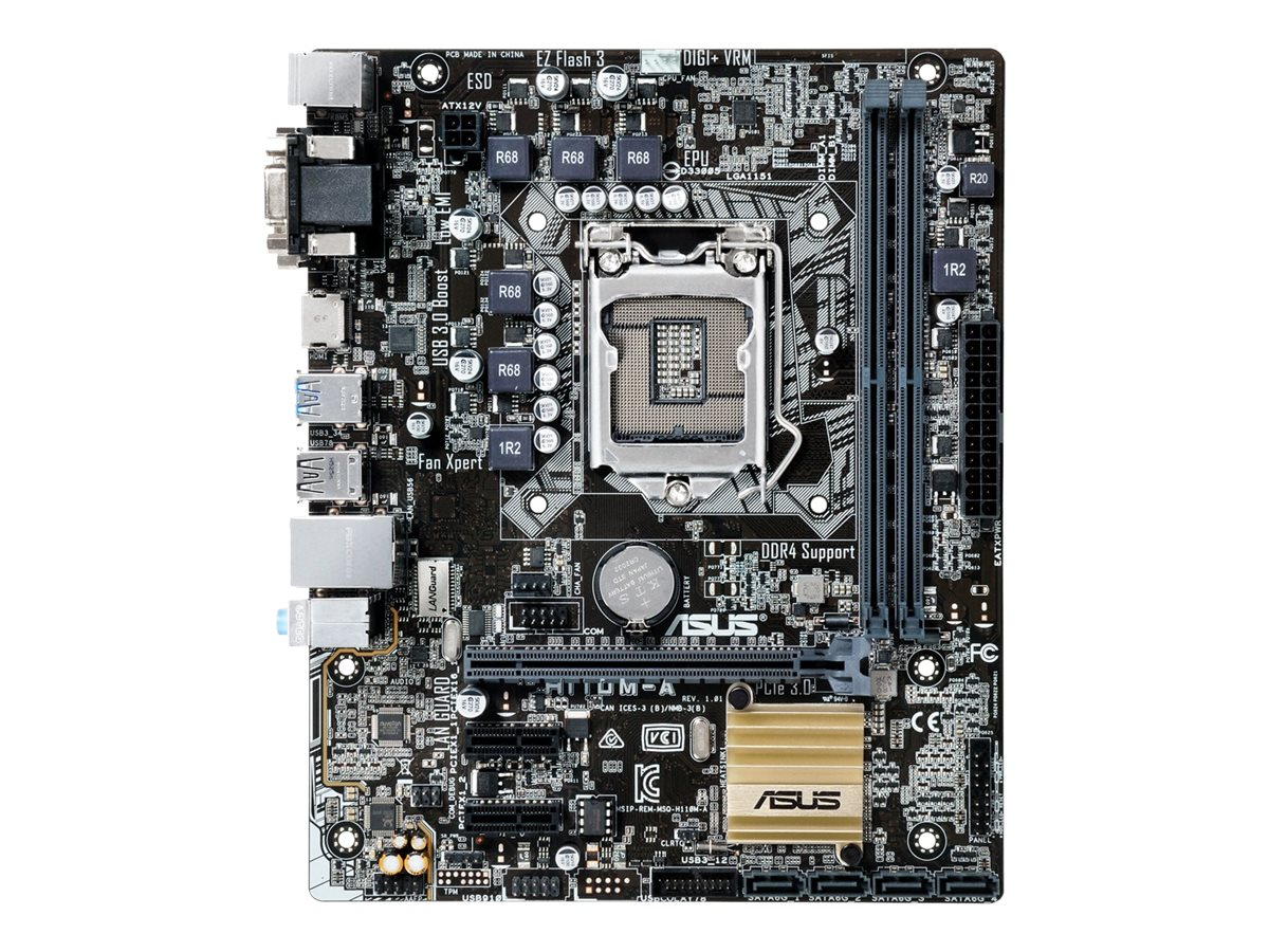 Asus Motherboard, H110M-A