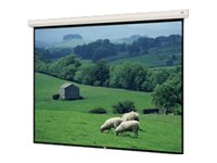 Da-Lite Large Cosmopolitan Electrol Projection Screen with Built-In LVC, Matte White, 16:9, 216