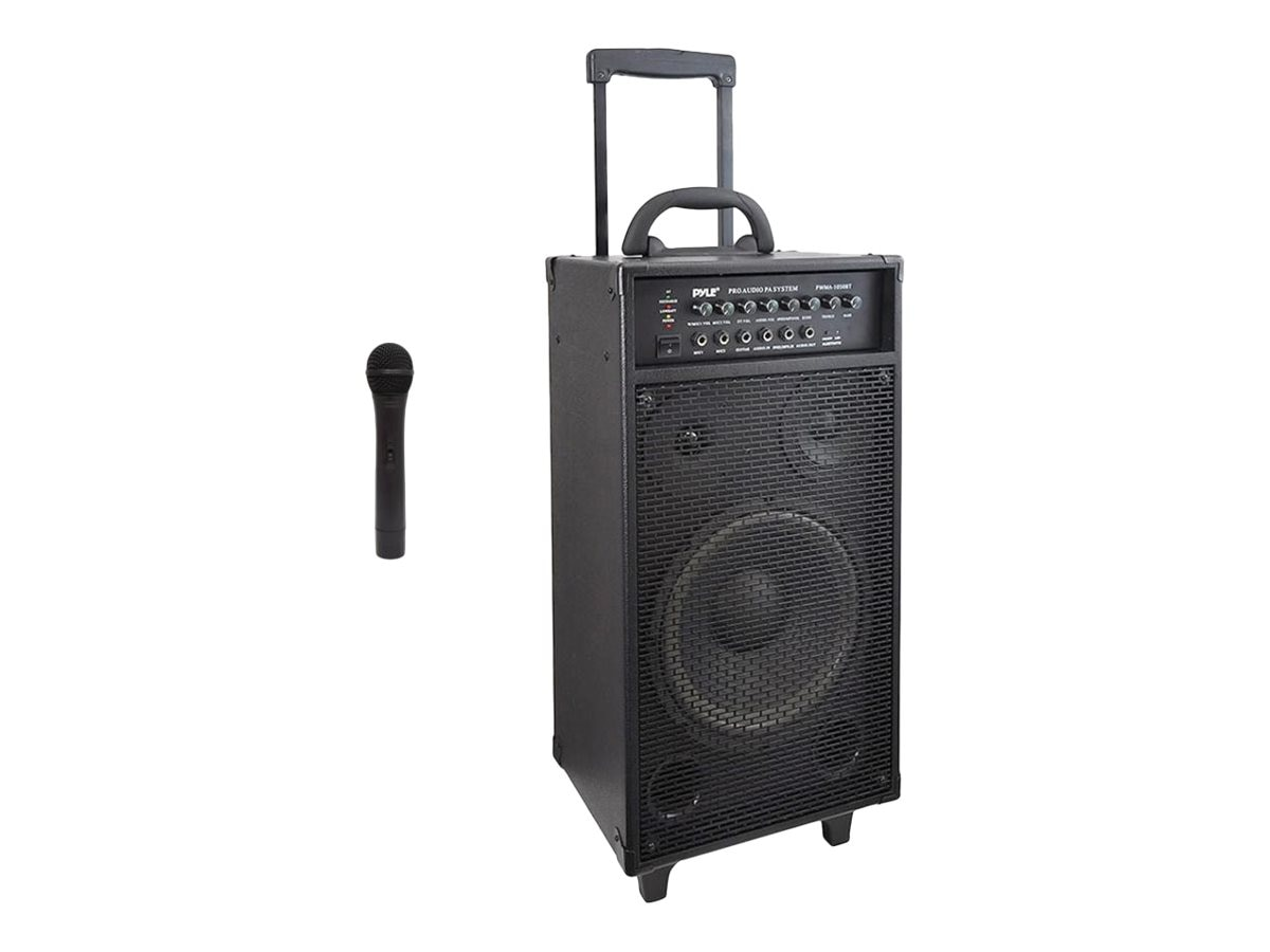 Pyle Wireless Portable BT PA Speaker System