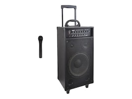 Pyle Wireless Portable BT PA Speaker System, PWMA1050BT, 31478226, Music Hardware
