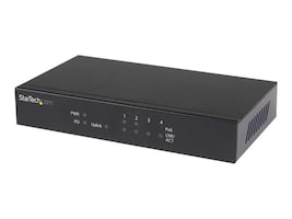 StarTech.com 5-Port Gigabit Ethernet PoE Switch w 2xPSE PoE Ports, IES51GPOEPD, 26691410, Network Switches