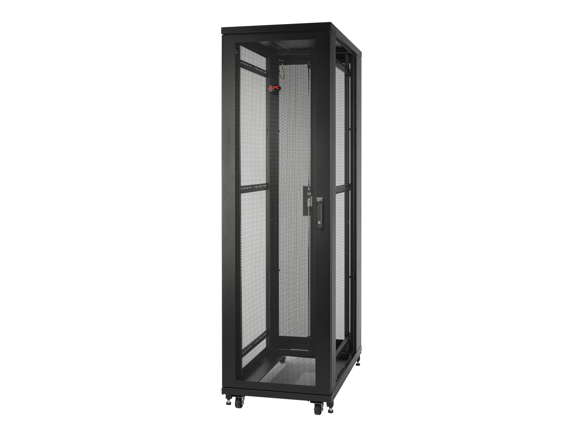 APC NetShelter SV 42U x 600mm Wide x 1060mm Deep Enclosure without Sides, Black, AR2401