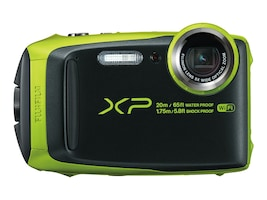 Fujifilm FinePix XP120 Camera, 16.4MP, 5x Zoom, Lime, 16543999, 33763063, Cameras - Digital