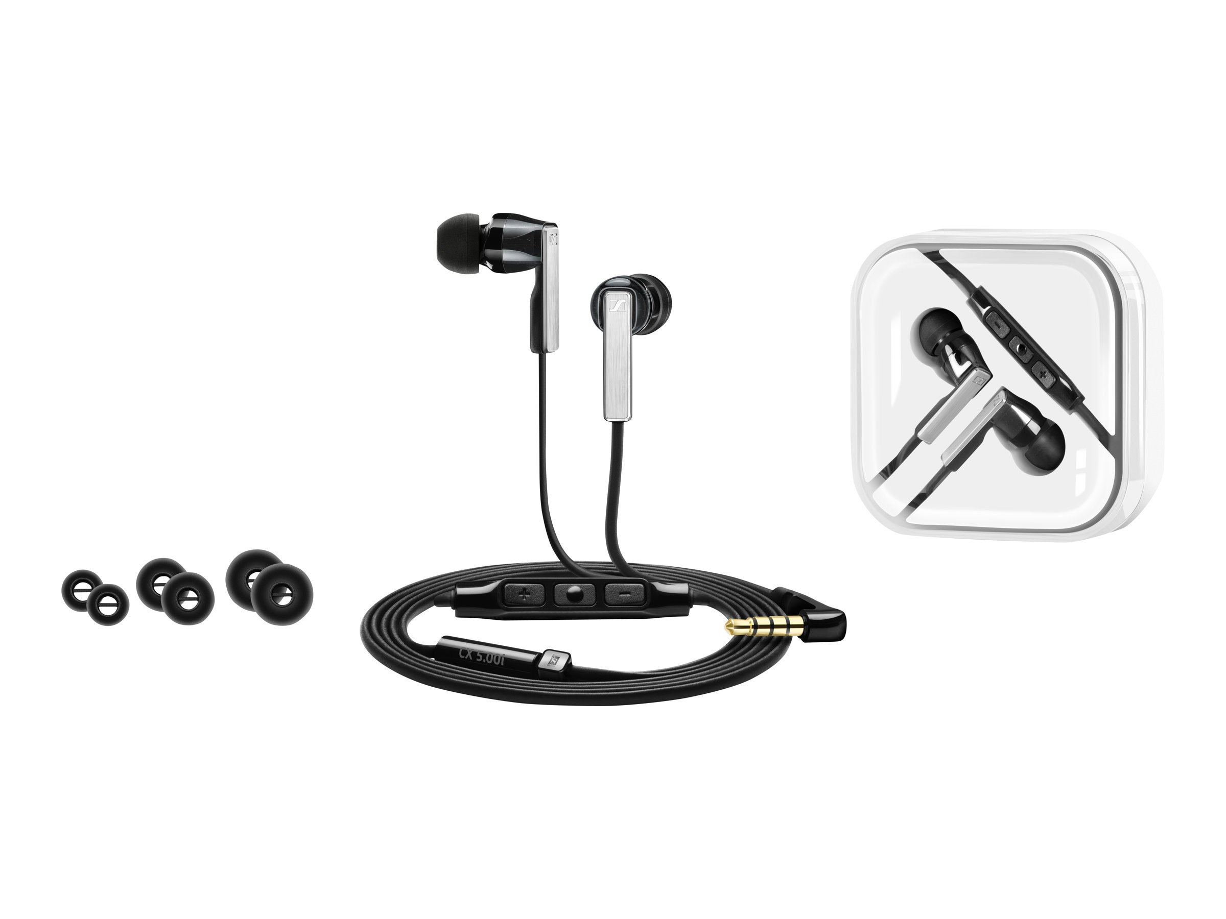 Sennheiser CX 5.00I Ear Buds - Black, 506233