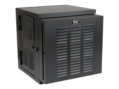 Tripp Lite SmartRack 12U NEMA 12 Industrial Wall-Mount Enclosure with Doors, Side Panels