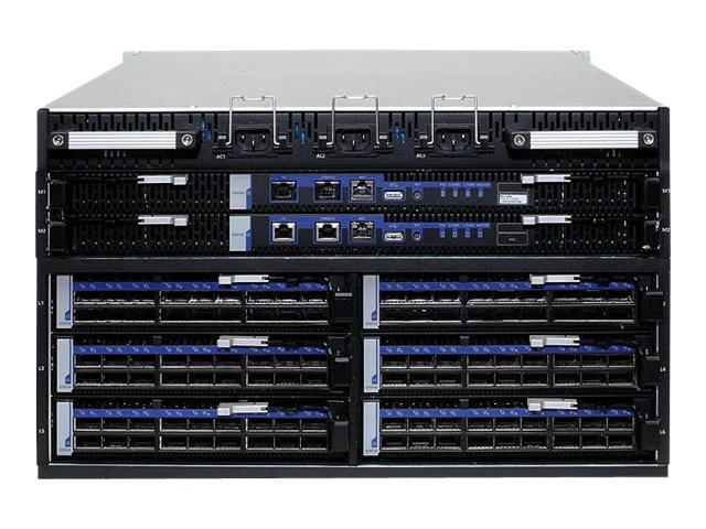 Mellanox 108-Port FDR Capable Modular Chassis Includes 4 Fan And 2 N+N Power Supply, MSX6506-NR, 16949430, Network Switches