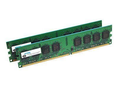 Edge 4GB PC2-5300 240-pin DDR2 SDRAM UDIMM Kit, PE20693202, 7901338, Memory