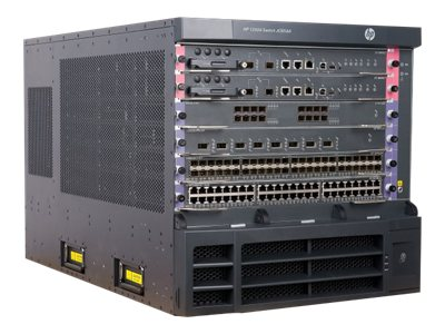 HPE 12504 AC Switch Chassis, JC654A